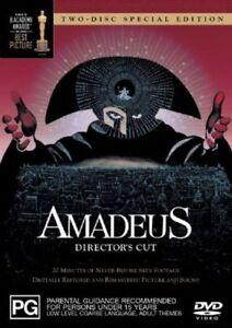 Amadeus DVD Director's Cut 2 Disc - RARE OOP Musicals & Broadway