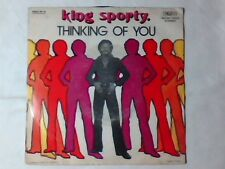"KING SPORTY Thinking of you 7"" ITALY MEGARARE on TROJAN with PICTURE SLEEVE"