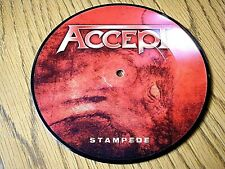 """ACCEPT - STAMPEDE  7"""" PICTURE DISC"""