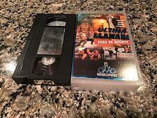 Ultima Llamada Rare VHS! Spanish Mexi Action! Pena De Muerte