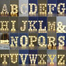 Large LED Light Up Alphabet Letters Warm White Light Plastic Numbers Standing