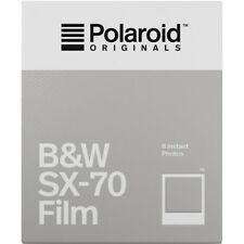 Polaroid Originals 4677 Black and White Glossy Instant Film for SX70 Cameras