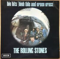 ROLLING STONES BIG HITS HIGH TIDE GRASS 1973 UK DECCA REISSUE VINYL LP TXS 101