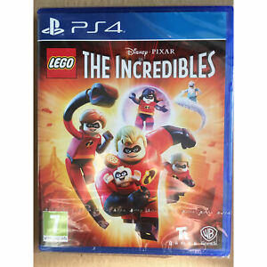LEGO The Incredibles PS4 PLAYSTATION New and Sealed