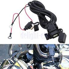 Cavo Presa Connettore USB Batteria Manubrio Cruscotto Moto Impermeabile DB