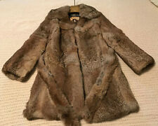 Mademoiselle Furs Exclusive Gold Label Collection Sable Rabbit Fur 3/4 Coat