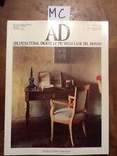 AD - N. 72 - MAGGIO 1987 - ARCHITECTURAL DIGEST LE PIU' BELLE CASE DEL MONDO