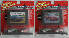 "Johnny Lightning Billboard - 1967 & 2001 Pontiac Firebird ""Yesterday & Today"""