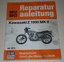 Manual de Reparaciones Kawasaki Z 1000 A3+A4 ( Mk.II ), a Partir Año Fab. 1979