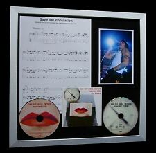 RED HOT CHILI PEPPERS Population LTD GALLERY QUALITY CD FRAMED DISPLAY+FAST SHIP