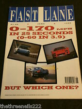 FAST LANE - BMW 320i TOURING 626GT 405 GLX - JUNE 1989