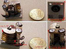 2 x Drehkondensator /  Drehkos  ca.10.....13pF
