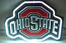 NCAA Ohio State Buckeyes Beer Bar 3D Carved Neon Sign Light [FAST SHIPPING]