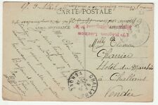 'Hopital Complemeltaire No. 54' 1918 (Field Post)