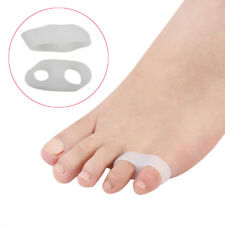 1Pair Silicone Gel Small Toe Straightener Separator Corrector Guard Foot Care