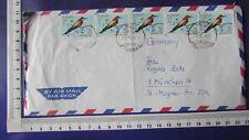 Libyen Luftpost-Brief MeF Benghazi Bengasi / München 1965