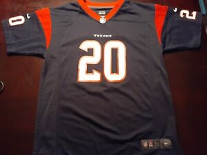 Ed Reed Houston Texans Youth XL Jersey NWOT