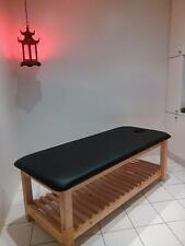 ULTRASTYLE CUSTOM MADE THAI MASSAGE TABLE WITH RACK PICK COLOR AUSTRALIAN MADE
