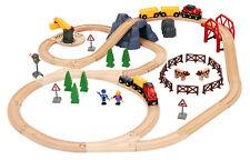 Wooden Railway Brio Big Countryside & Cargo Set 33934 NEW
