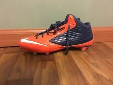 NEW  Size 14 Nike Vapor Speed ¾ TD Football  Cleats 668853-406 Orange Navy