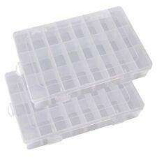 Ritte Ajustable Caja de Almacenamiento de Plástico con 24 Compartimentos para J