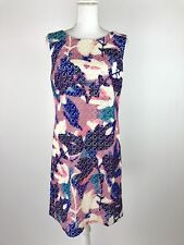 Neiman Marcus Women's Size Small Career Laser Cut Fully Line Unicorn Color Dress