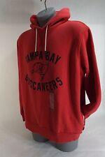 """New Mens 2XL XXL Nike """"NFL"""" Tampa Bay Buccaneers Hoody Jacket Red $80 537886-604"""