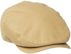 BOTVELA Men Ivy Cap Twill Cotton Newsboy Flat Hat