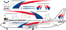 Malaysia Airlines Boeing 737-800 decals for Revell 1/144 kit
