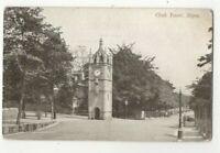 Ripon Clock Tower Yorkshire England Vintage pre 1918 Postcard Bayley US160