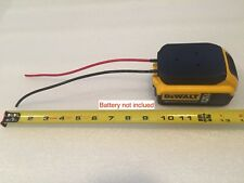 DeWALT 20v Max 18v battery adapter dock power connector 12 gauge wire 3d print