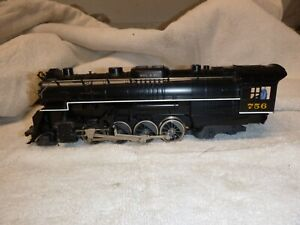 Lionel 756 Nickel Plate Berkshire - engine only - runs well