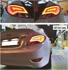 LED Tail Lamp Ligts Asst Genuine OEM For 2011~2015, 2016+ Hyundai Accent Solaris