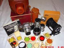 3 Carl Zeiss Jena obiettiva e EXAKTA VAREX VX, macchina fotografica; filtro (foto 19)