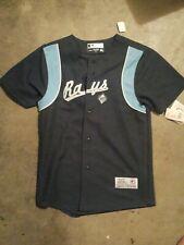Tampa Bay Rays Baseball Jersey Shirt Youth Medium NWT Genuine Merchandise