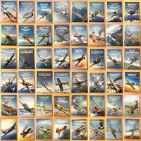 Osprey Aircraft Of The Aces Choice Of Volumes 1 to 50 Military Aircraft WWI WWII
