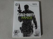 Call Of Duty: MW3 - Original Nintendo Wii Video Game Complete Free Ship