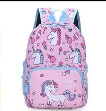 Personalised Kids Backpack Unicorn Girls School Nursery Bag Rucksack