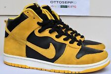 11 2005 NIKE SB DUNK High BTTYS Iowa maize black yellow suede gold og 305050 181