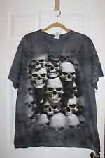 BNWTS ZOMBIES SKULLS BONES  Gray T-Shirt Size Large XL