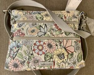 SAKROOTS Basic Crossbody BLUSH IN BLOOM  107214  New!