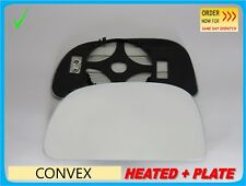 For Mitsubishi Space Star 1998-2005 Wing Mirror Glass Convex HEATED Left #JB004