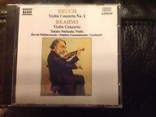 Bruch Violin Concerto 1, Brahms Violin Concerto - Takako Nishizaki Naxos Digital