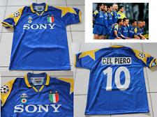 Juventus 1996 Del Piero Champions League shirt jersey BLUE Excel Cond LARGE