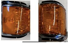 FORD TRUCK BRONCO 87-91 Amber FRONT CORNER TURN SIGNAL LIGHTS F150 250 350