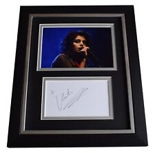 Katie Melua SIGNED 10x8 FRAMED Photo Mount Autograph Display Music AFTAL & COA