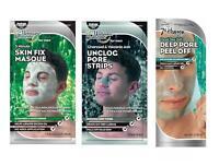 7th Heaven Men's Face Masks Peel Off Pore Strips Skin Care