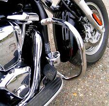 Clásico De Acero Inoxidable Barra De Choque Protección del Motor Kawasaki VN 2000 VN2000 Vulcan