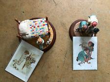 Norman Rockwell Hallmark Figurines