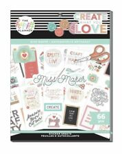 Happy Planner New Release MISS MAKER LARGE Value Pack Stickers Sticker Book